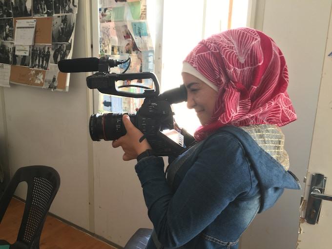 難民映像制作チームのメンバー