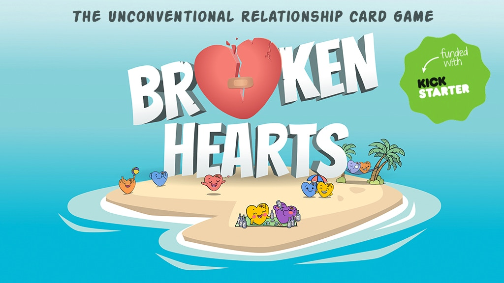 Broken Hearts : The Unconventional Relationship Card Game project video thumbnail