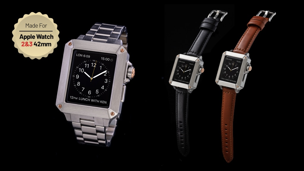 Octa: Apple Watch case inspired by Classic Swiss Timepieces project video thumbnail