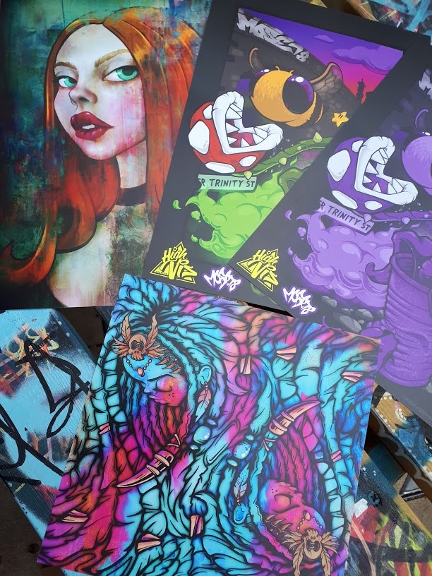 Some of the A4 Prints on offer