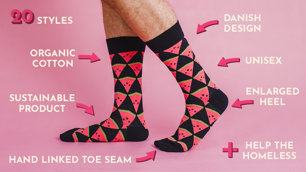 SOLOSOCKS Share: Organic Quality Socks with a Purpose