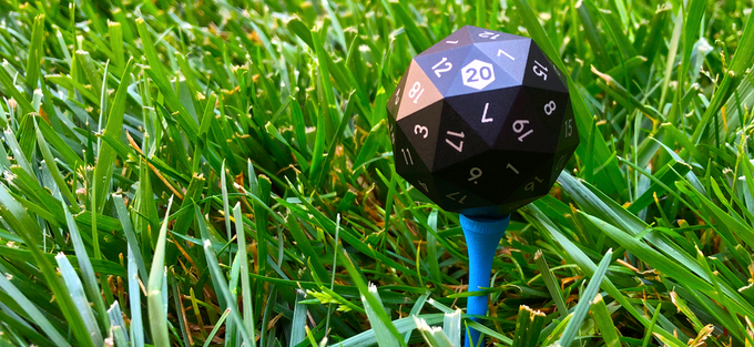 Great for slaying dragons... terrible for golf.