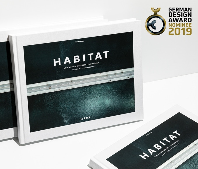 HABITAT – human altered landscapes  Aerial Photo Book  by