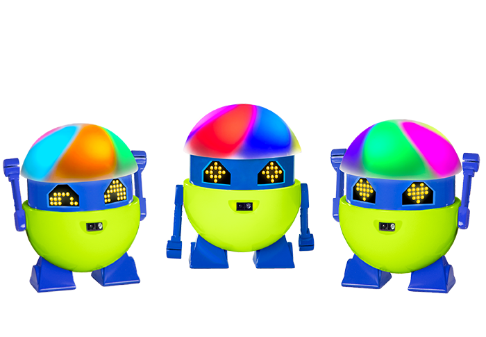A little robot with a big, quirky personality who grows and learns the more you interact with him! App-free play for kids ages 4 -10.