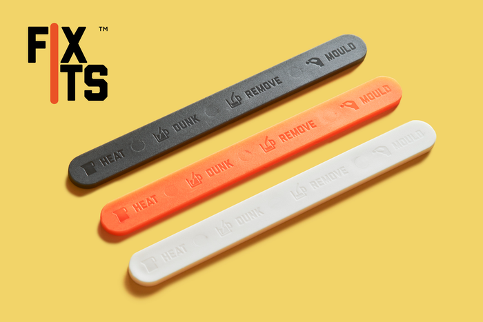 FixIts are mouldable eco-plastic sticks for quick, reusable & strong DIY fixes. For your tech, home, garden and more!
