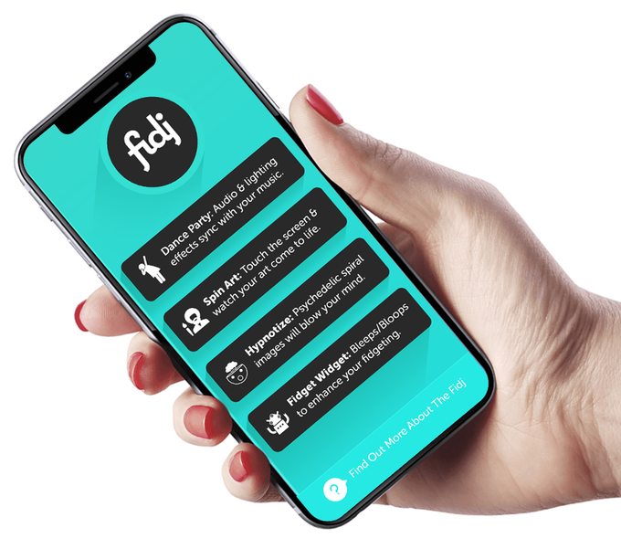 The app is included with every Fidj, and will only get better from here!