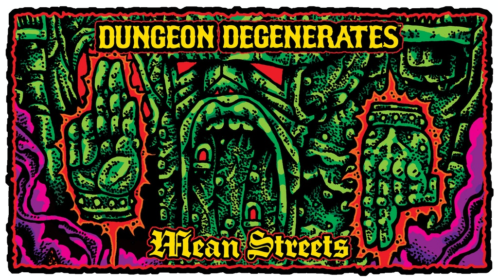 DUNGEON DEGENERATES: MEAN STREETS EXPANSION BOX project video thumbnail