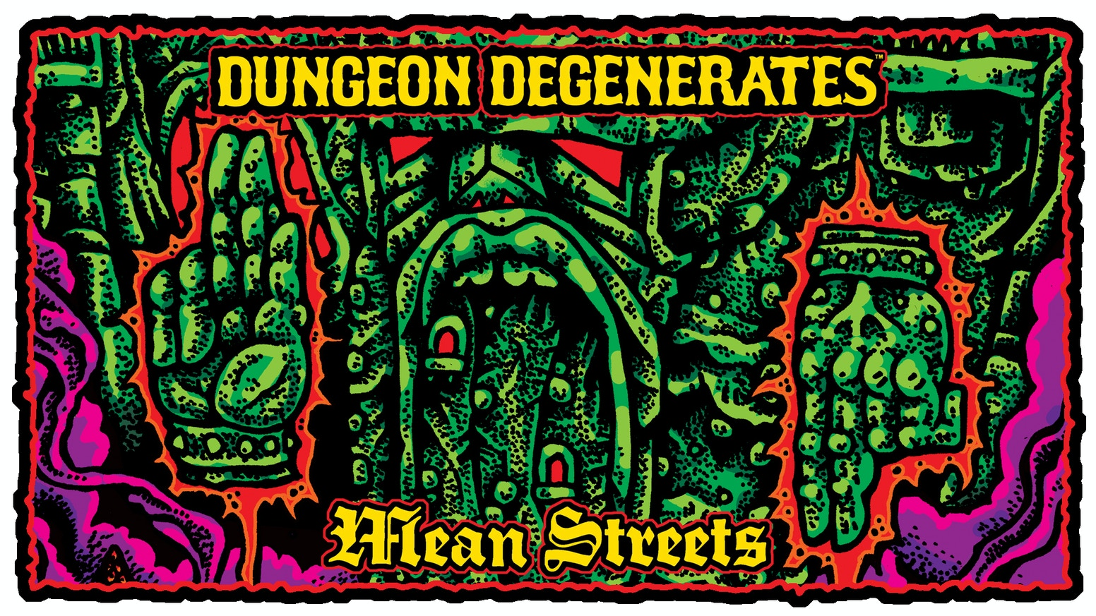 The first expansion box for DUNGEON DEGENERATES