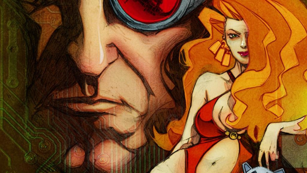 TechnoFreak Comic - Issue 1 project video thumbnail