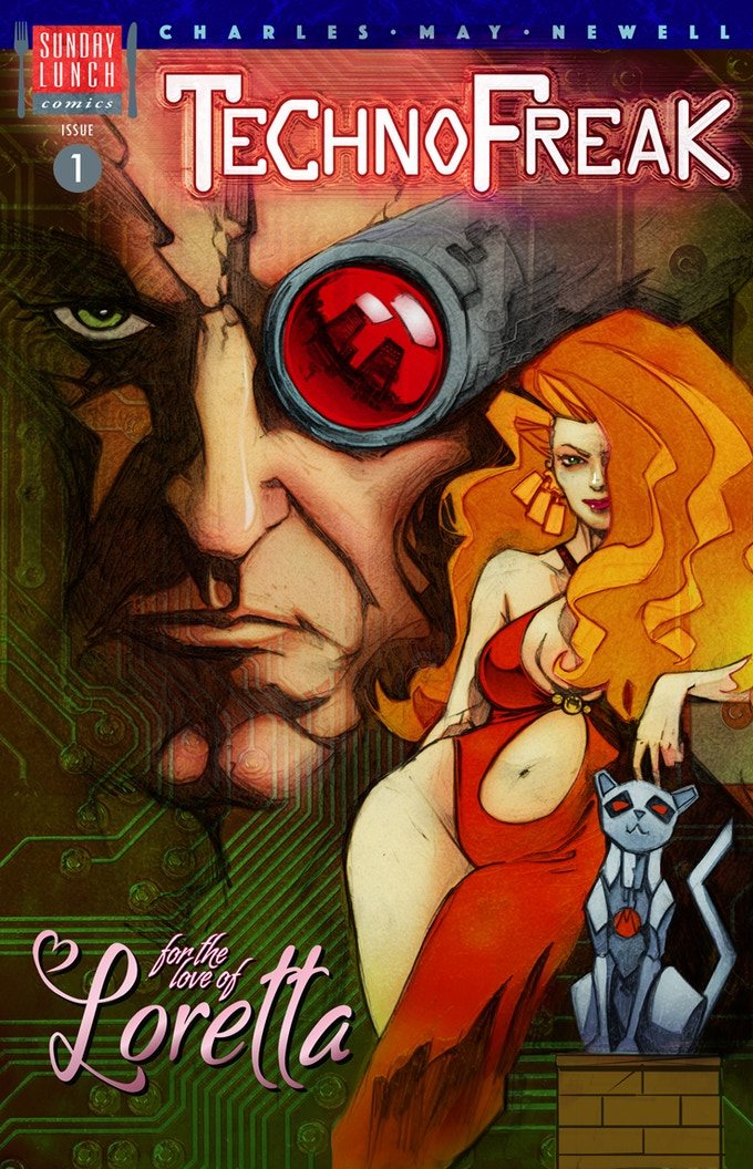 TechnoFreak Issue 1 Cover