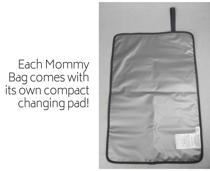 So handy for on-the-go diaper changes!