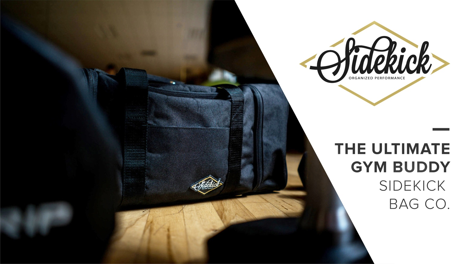 The Sidekick Bag is a premium duffle bag that combines fashion and functionality. Now you can have organized performance at the gym. Hey guys if you missed our campaign, you still have a chance!! Click the link below for more information!!
