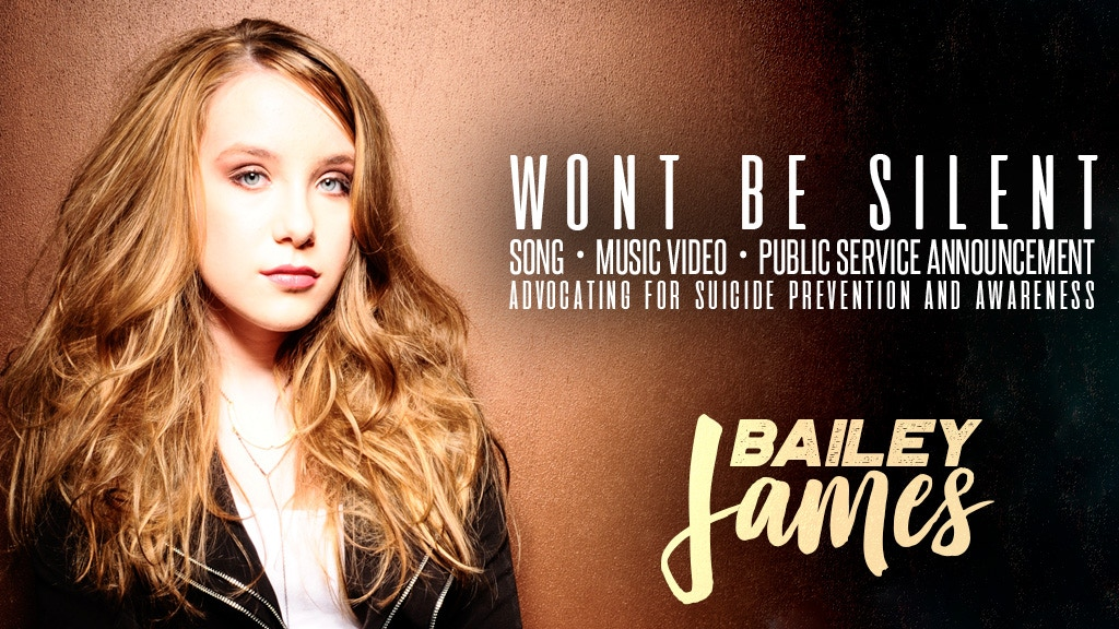 Bailey James: Wont Be Silent Suicide Awareness Campaign project video thumbnail