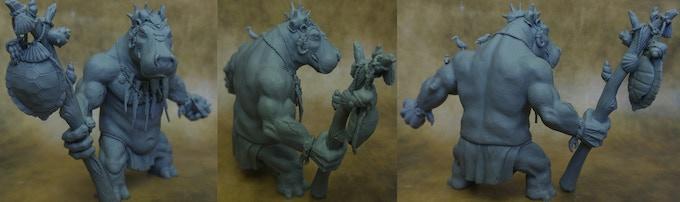 Gursk WIP Sculpt