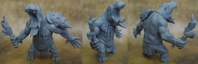 Brakka WIP Sculpt
