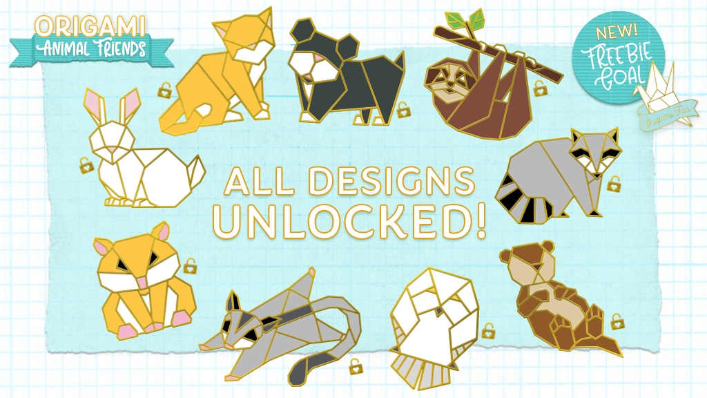 Origami Animal Friends Hard Enamel Pins is the top crowdfunding project launched today. Origami Animal Friends Hard Enamel Pins raised over $2884 from 0 backers. Other top projects include The Silent Movie Ensemble Presents: