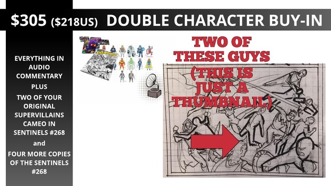 Double Character Buy-In