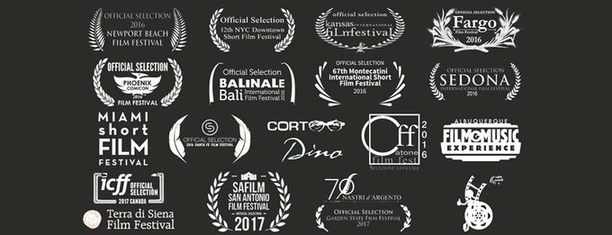 "Festivals at which short film ""Without"" screened"
