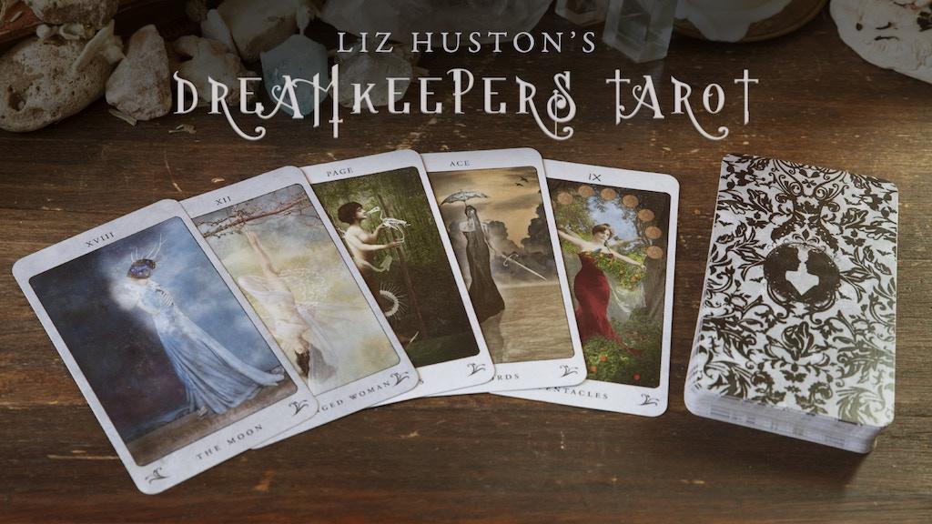 Liz Huston's Dreamkeepers Tarot project video thumbnail