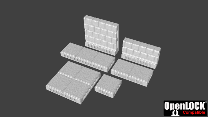 The Proletarii Class contains the Base Tile Set, which comes with 6 unique tile pieces. This pledge does not include Stretch Goals.