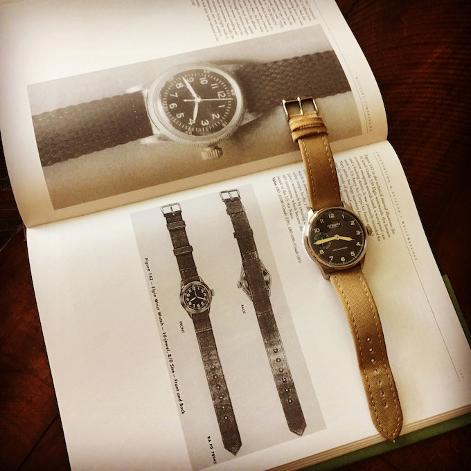 Type A11 - inspiration for our Vintage Field Watch