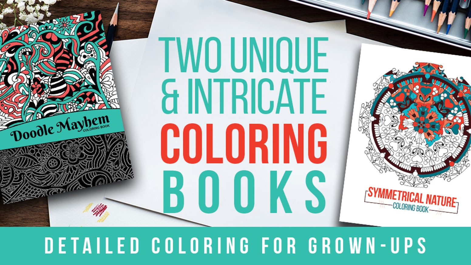 Two Unique And Intricate Coloring Books By Janae Newman Kickstarter