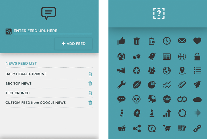 Customize and customize. Chances are your favorite News Page provides a RSS or Atom feed. Let us read out your favorite news/feeds/infos PLUS choose your favorite icons for your own custom modules!