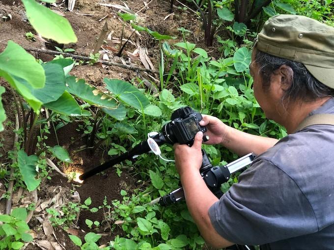 Shooting in the wild © Jie Ge