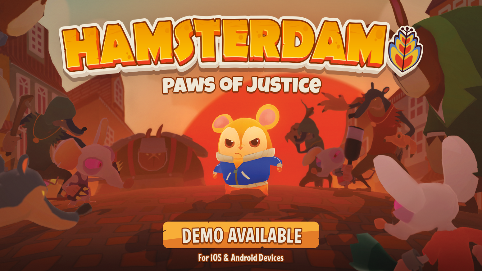Become the Hamster-fu master in this arcade brawler for the Nintendo Switch, mobile, & PC. Hold the fate of Hamsterdam in your paws!
