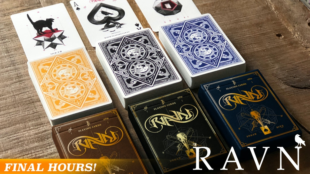 Ravn Playing Cards - Sol & Mani project video thumbnail
