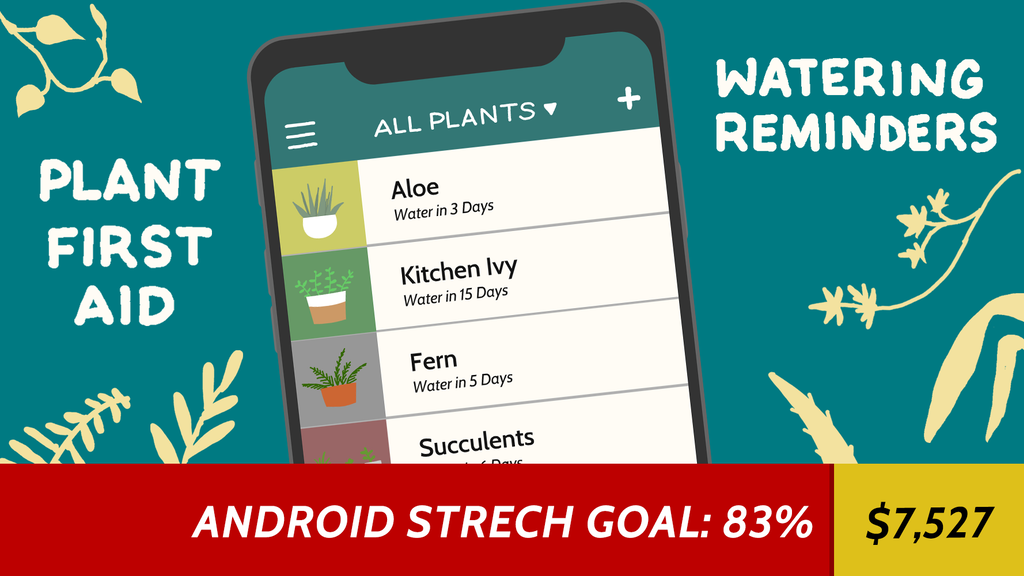 DRYP - an app that keeps your plants alive & happy project video thumbnail