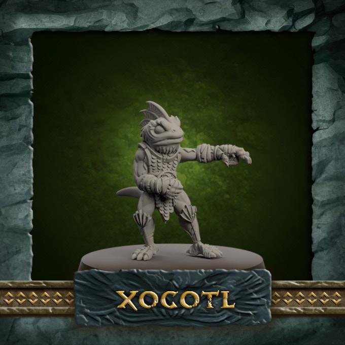 SKINK 9 LEADER - Xocotl