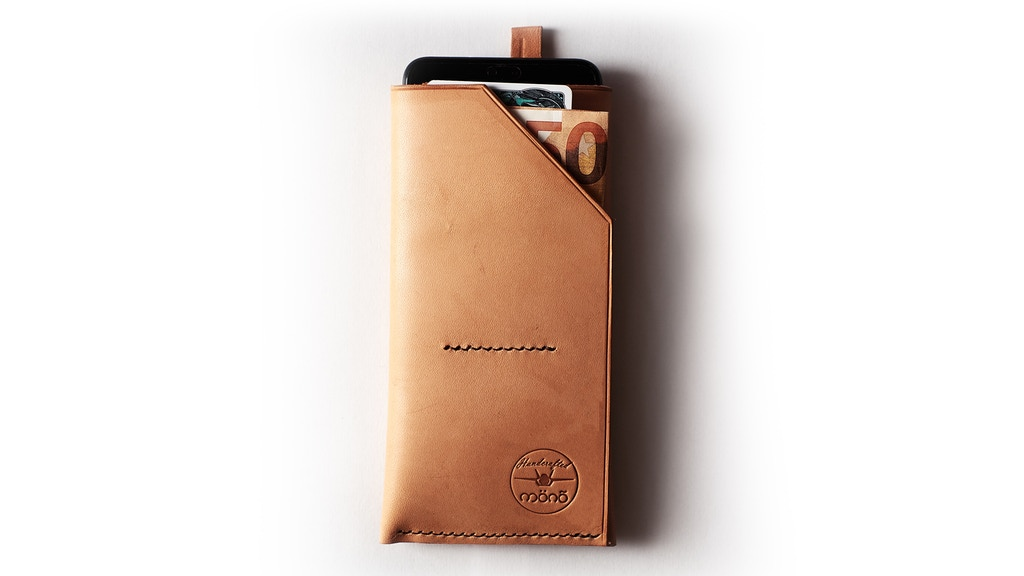 Project image for Smartphone leather wallet