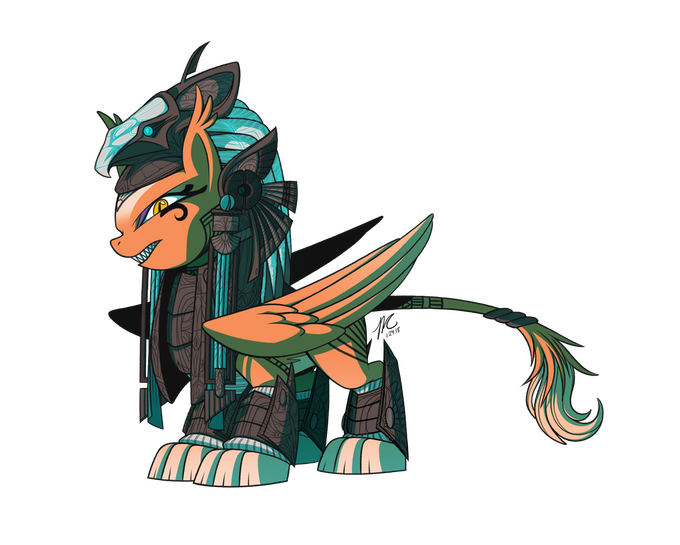 Sphinx Female Art (Art by Hexfloog)