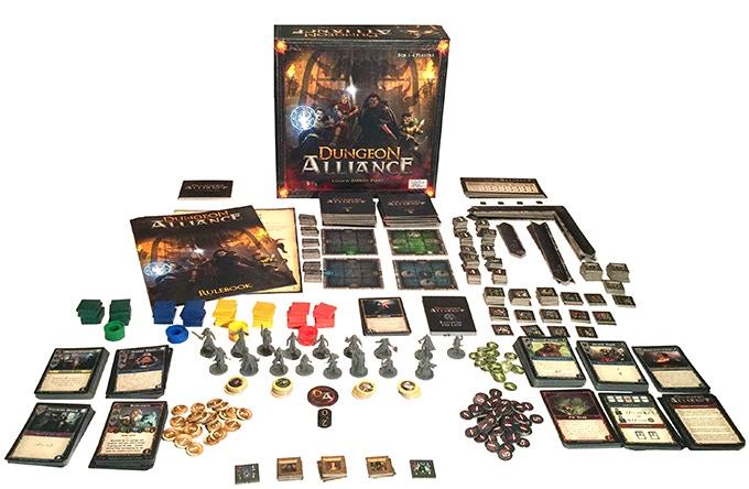 """Dungeon Alliance"" Base Game"