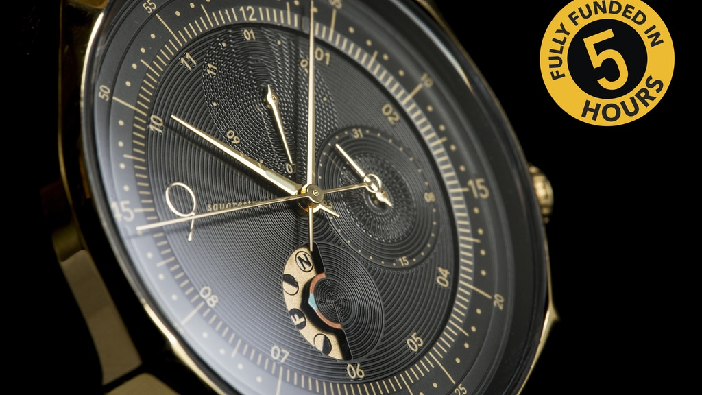 Swedish Contemporary Moon Phase Redefining Designer Watches project video thumbnail