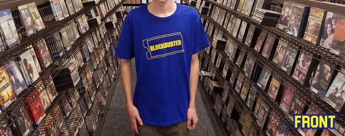 Official work uniform of the Last Blockbuster