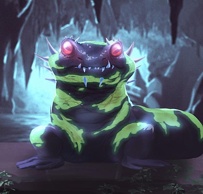 Venomous Salamander
