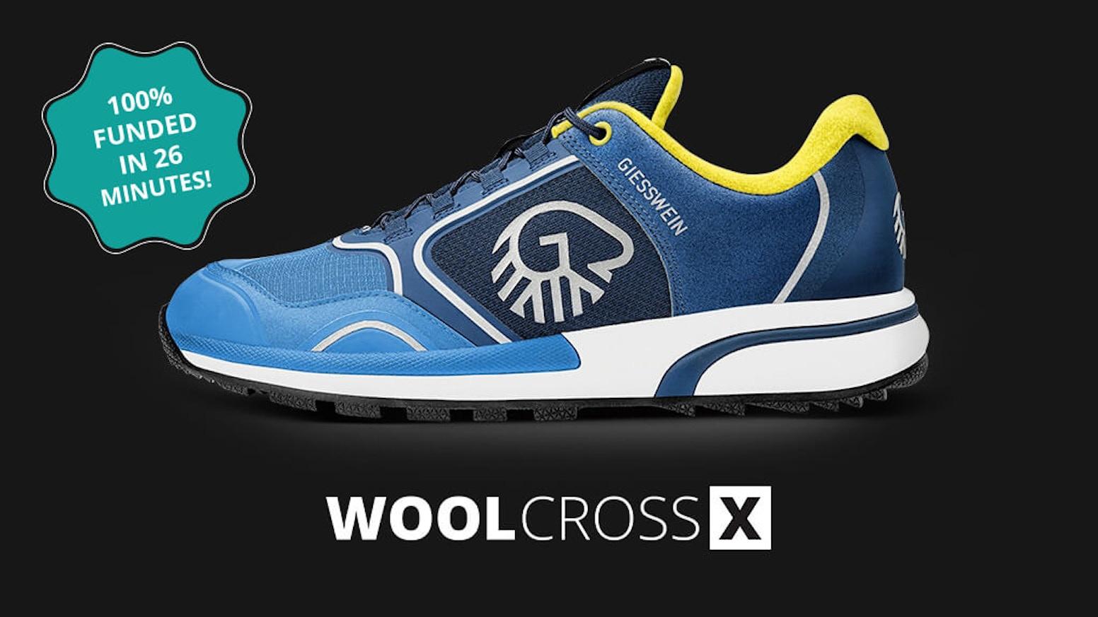 8de96a38476d WOOL CROSS X - THE WORLD S FIRST MERINO WOOL SPORT SHOE by GIESSWEIN ...