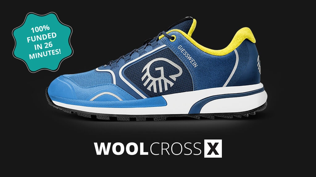 WOOL CROSS X - THE WORLD'S FIRST MERINO WOOL SPORT SHOE project video thumbnail