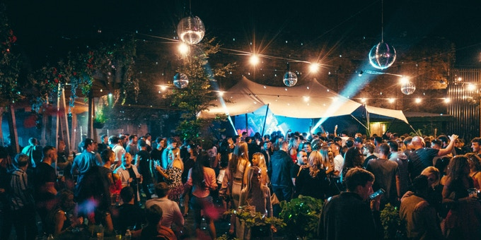 Constellations Garden. Join us for a series of exclusive Kickstarter parties