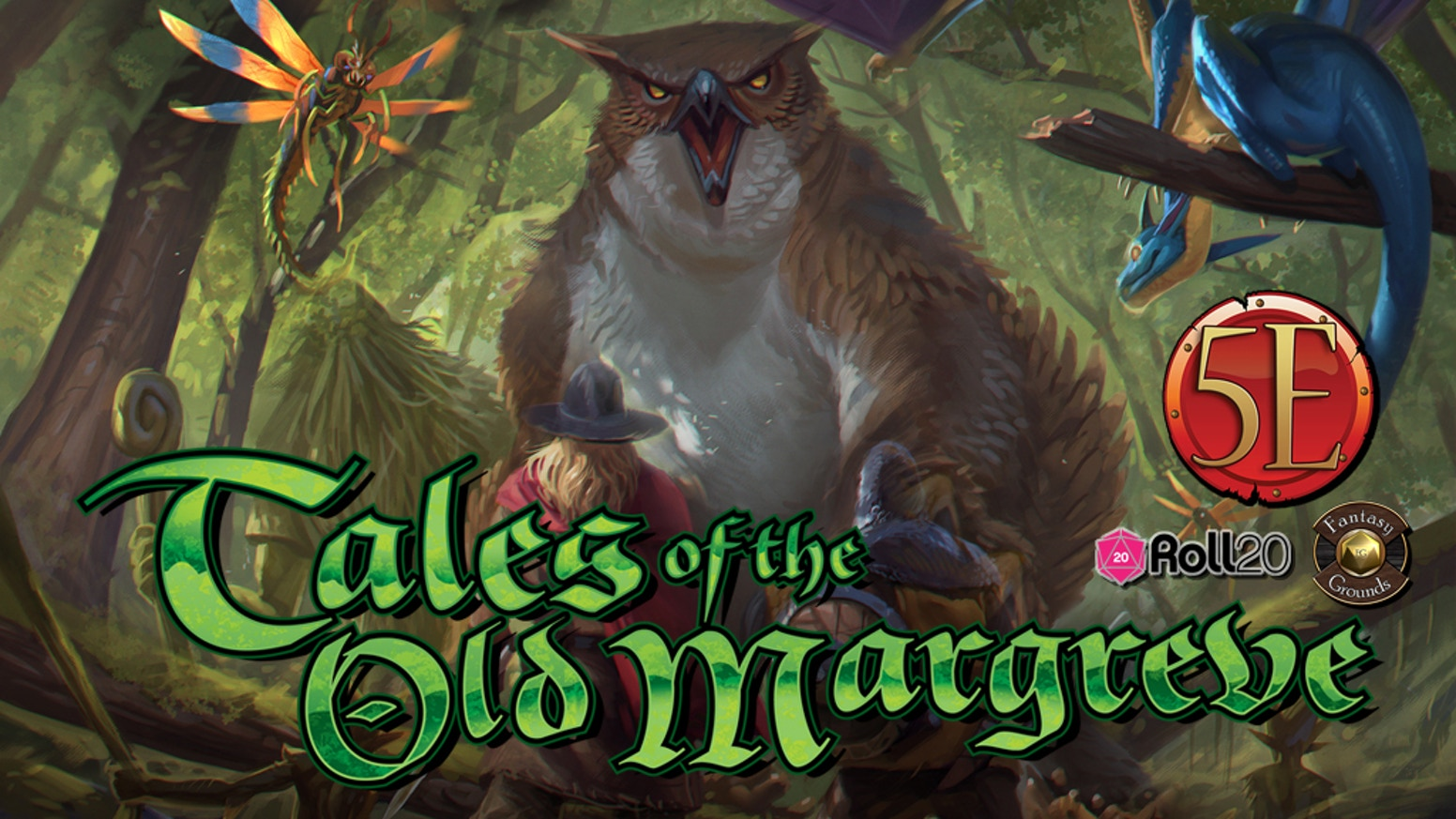 5th Edition roleplaying adventures in the deep and menacing forest, for PCs level 1 to 10. Explore the ancient woods & their mysteries!