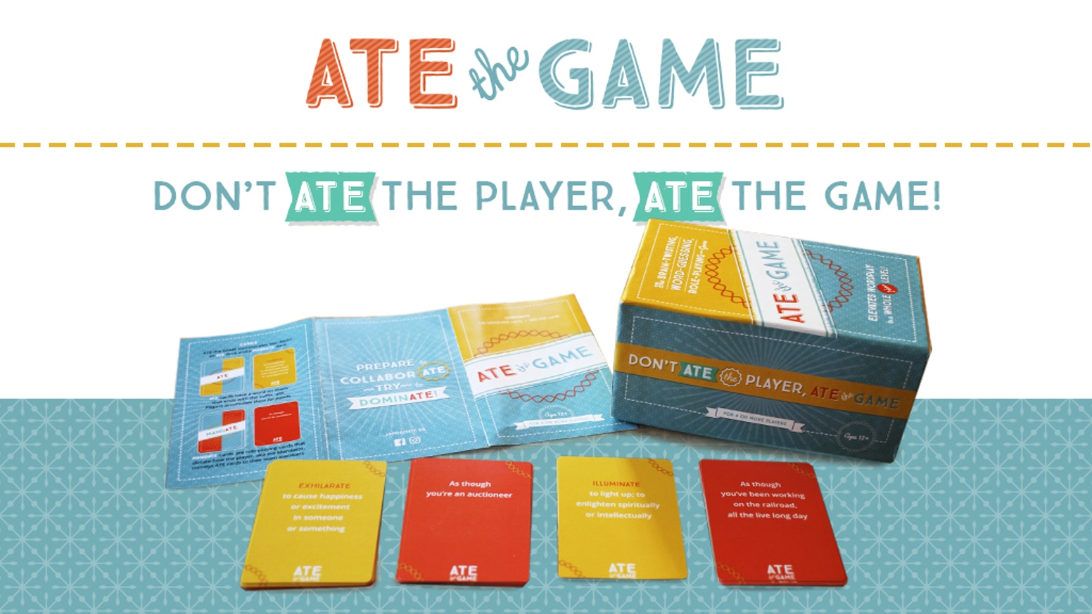 FUNDED!!!A brain-twisting, word-guessing, role-playing card game that is guaranteed to amp up game nights with friends or strangers.