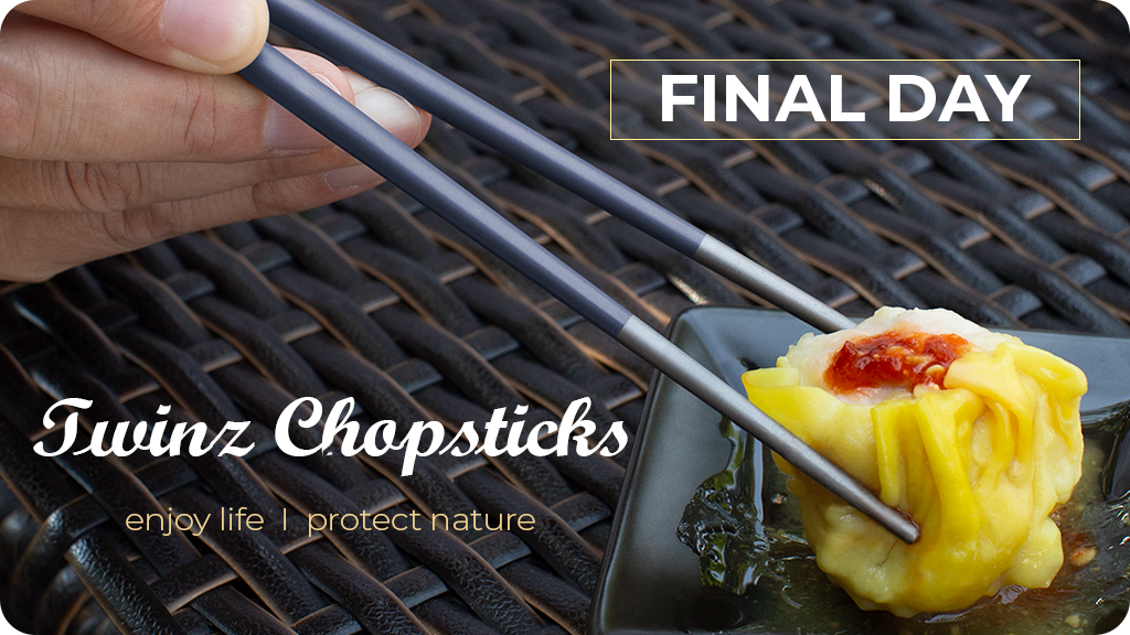 Eco-Friendly Chopsticks made from Aerospace Grade Titanium project video thumbnail