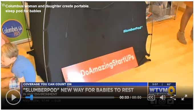 SlumberPod on WTVM - Columbus, Georgia