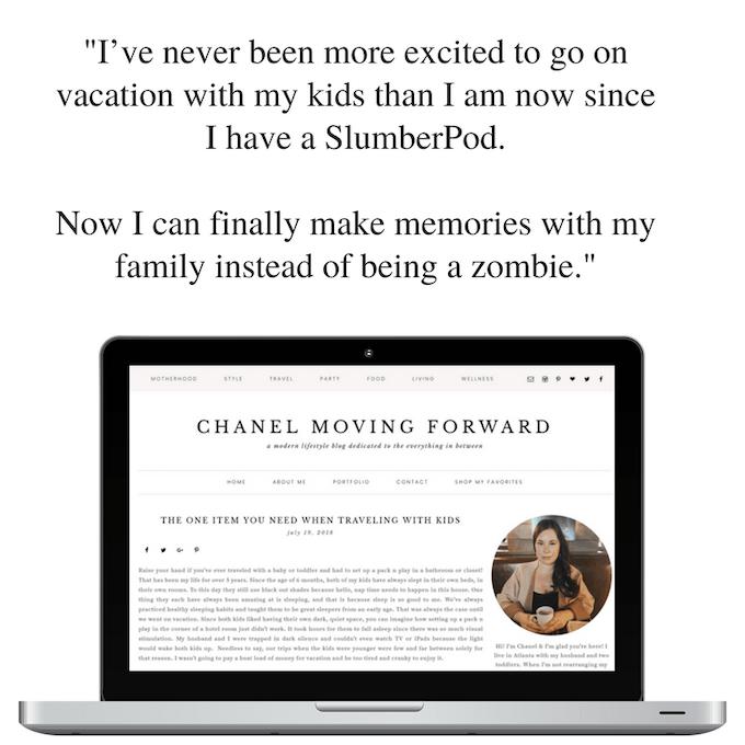 Chanel Moving Forward talks SlumberPod