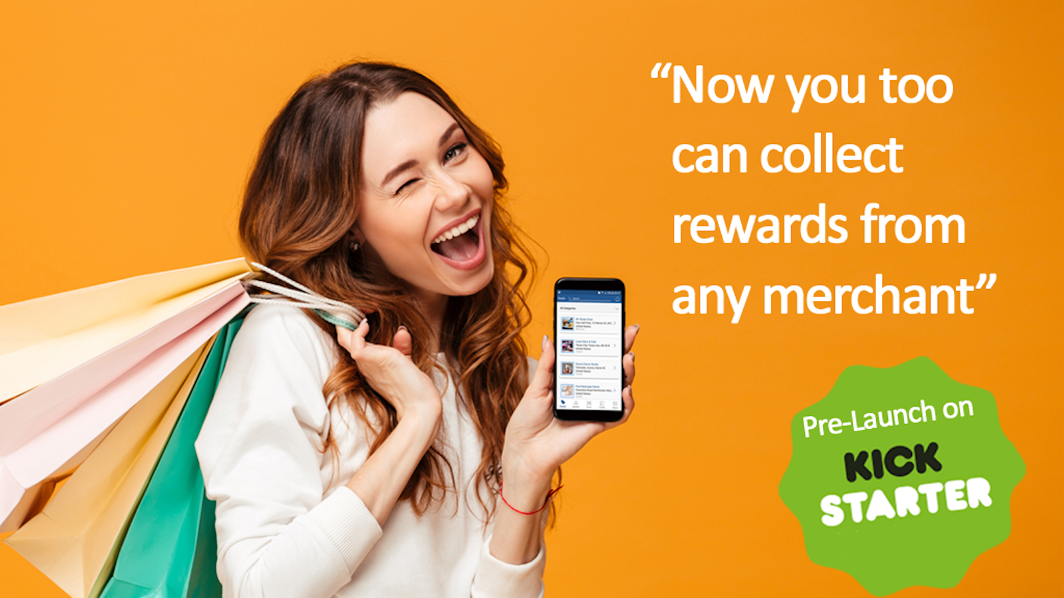Finally an app that rewards you for your daily purchase. Collect rewards from nearby merchants with location based searches. Be part of the next Retail Revolution that is rewarding for both users and merchants.