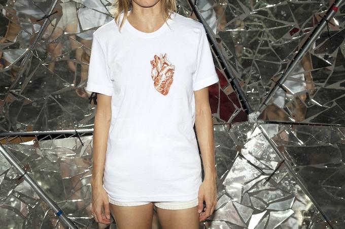 Reward #2: Listen-To-Your-Heart T-shirt (White)