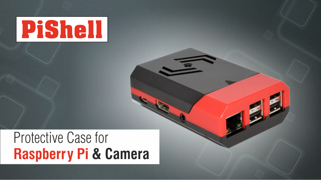 PiShell: Multi Color Case for Raspberry Pi & Camera project video thumbnail