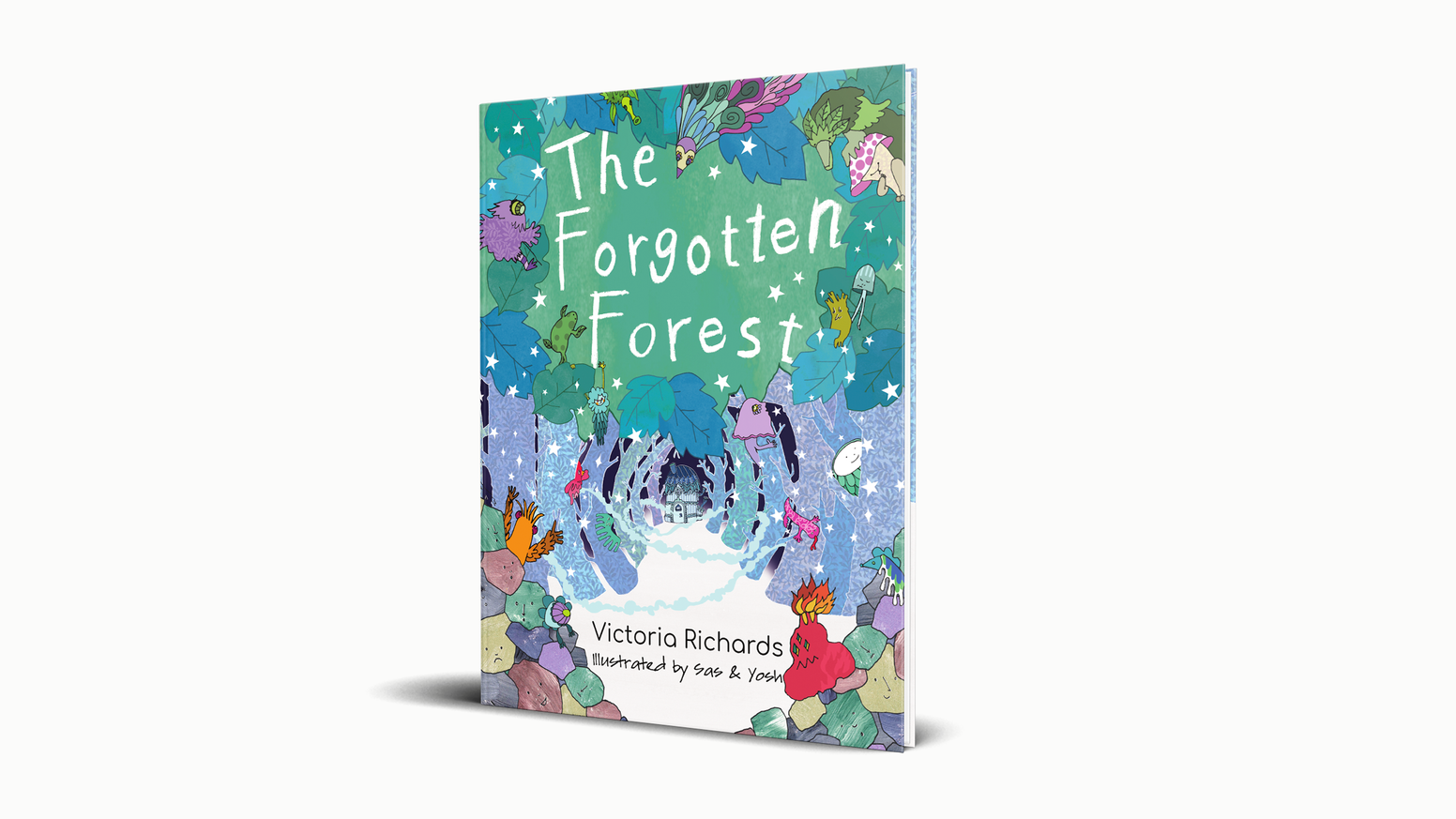All children should get to see themselves as the hero. The Forgotten Forest is our first amazing personalised picture book!
